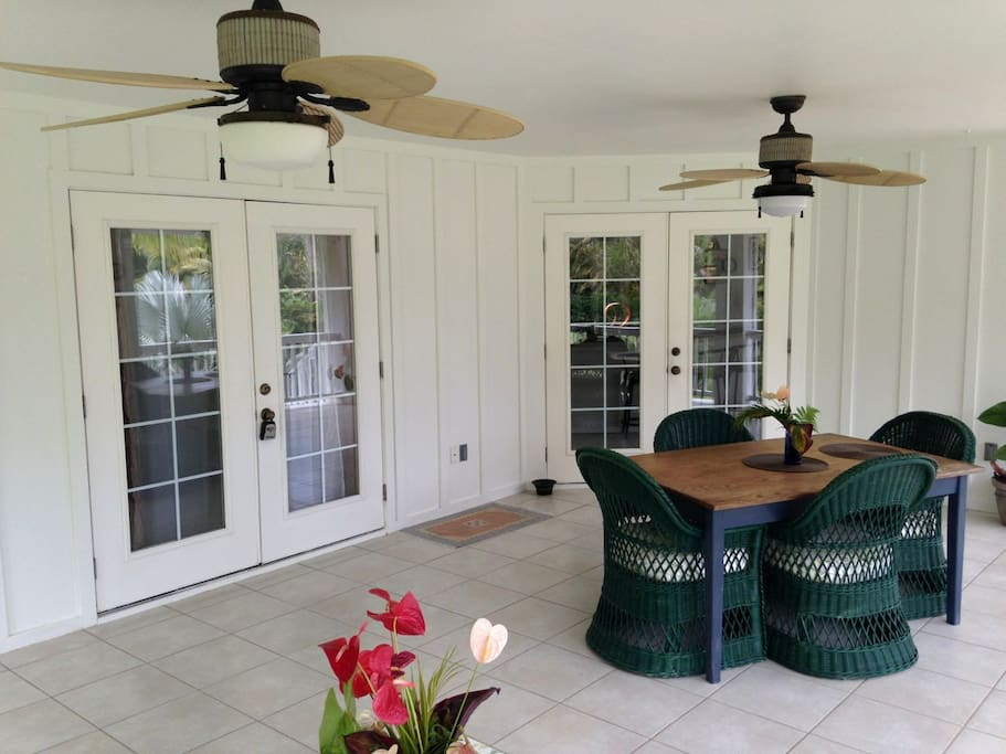 Enjoy dining and relaxing on the huge wrap around deck.