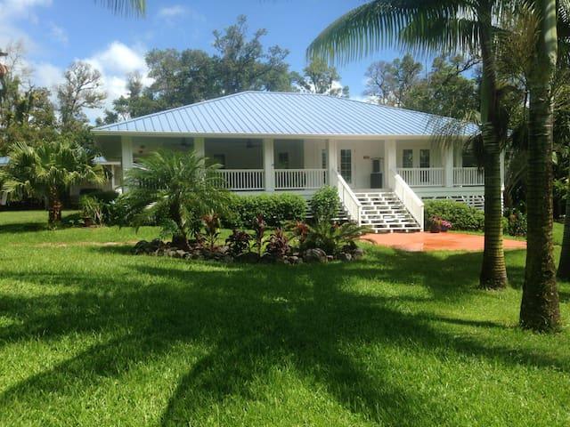 SPACIOUS HOME & GARDENS ON ONE ACRE - Pāhoa - Dom
