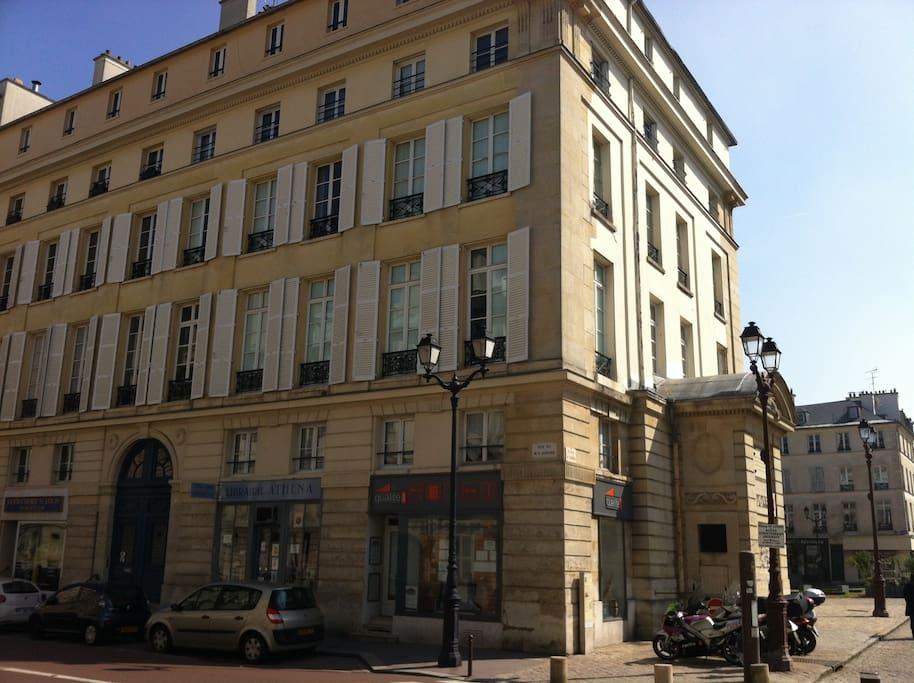 Notre immeuble, construit en 1750