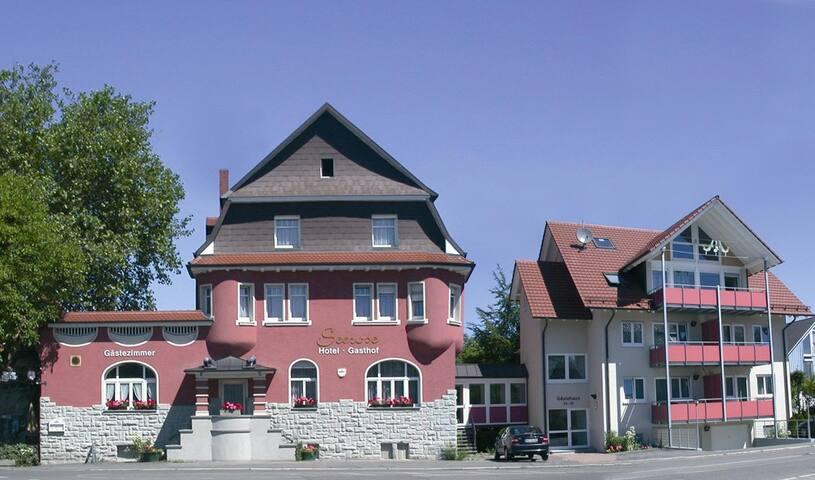 Gasthof Seerose, (Radolfzell am Bodensee), Einzelzimmer, 12qm