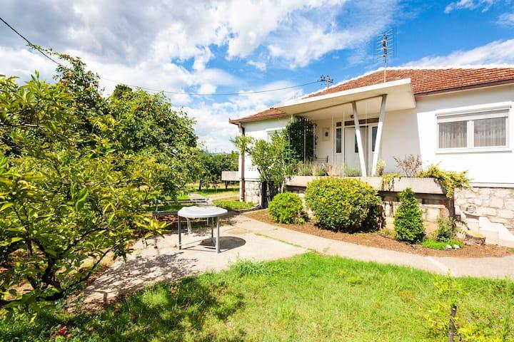 Rent a House in Podgorica - Garden & Parking