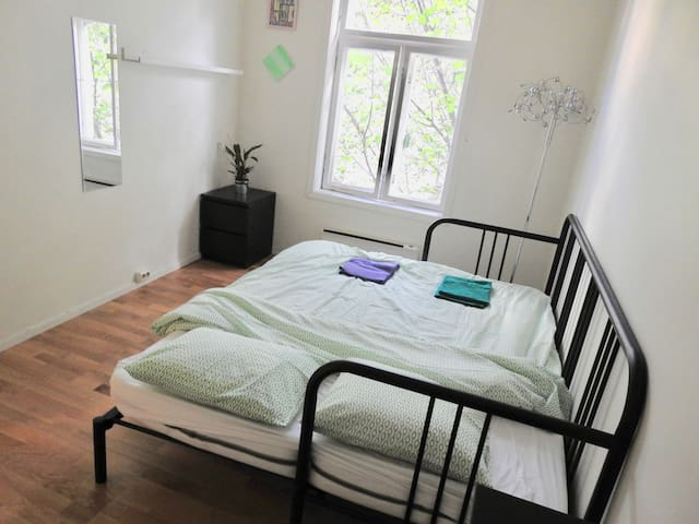 Huset Hostel Oslo. Big Room 11.