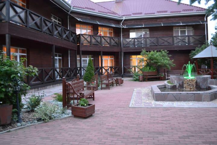 Однокомнатная квартира-студия в Апартаментах ХАЛЛЕ - Abzelilovskiy rayon