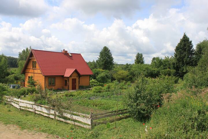 Lot of nature, lot of calm. - Sterławki Małe - Casa