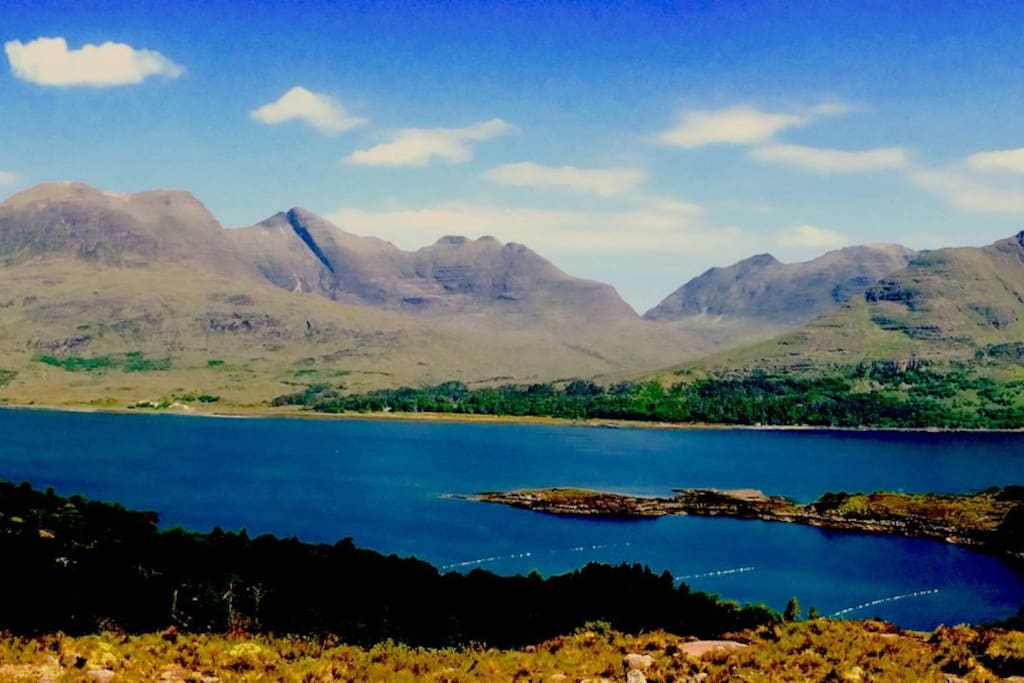 View onto Torridon Estate