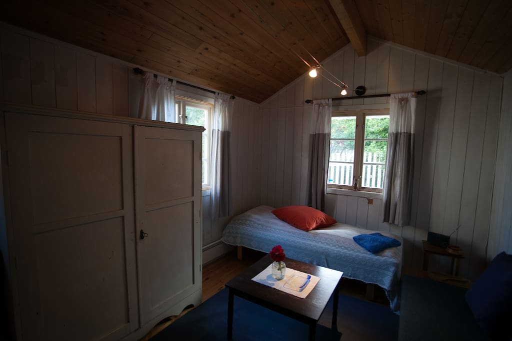 Inside the cabine