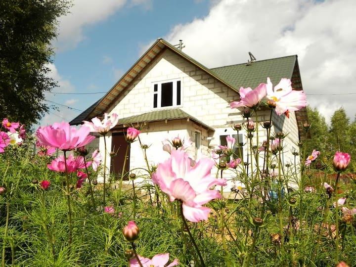 Nice house in S-Petersburg suburb