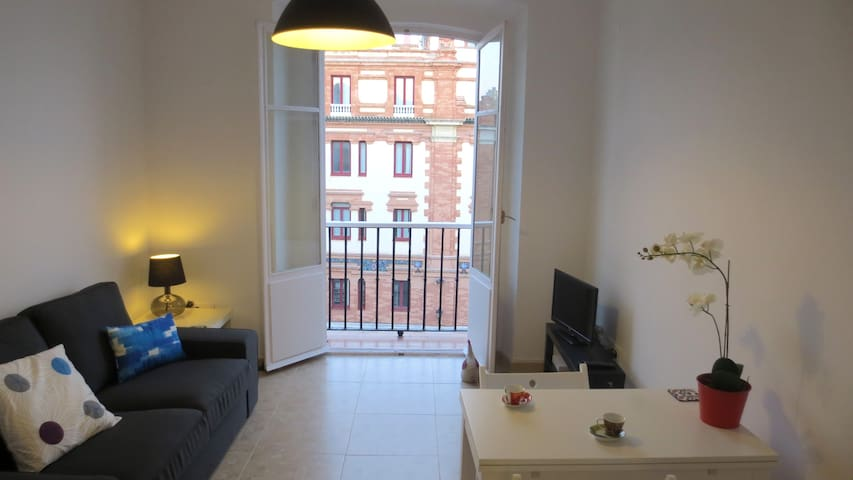 Central flat with stunning views - Cádiz - Apartament