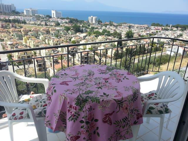 Kusadasi,100m2,luxury,panoramic sea view, 7beds