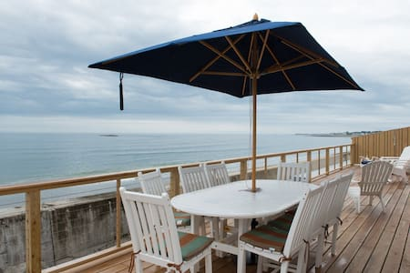 Pristine ocean front house with chefs kitchen. - Scituate