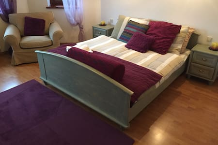 Sunny, big, cosy room with bathroom - Wrocław - Leilighet