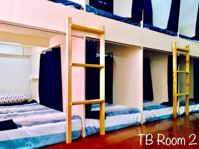 High Privacy & Cozy Mixed Dorm_TB Hostel Tainan - East District