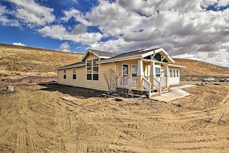 NEW! Private Home Near Laramie; Fish, Hike & Bike!