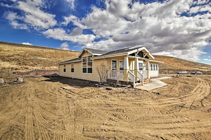 NEW! Private Home Near Laramie; Fish, Hike & Bike!