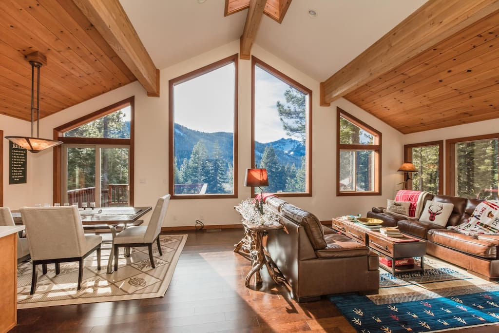 Formal Living Room with incredible views of Twin Peaks!