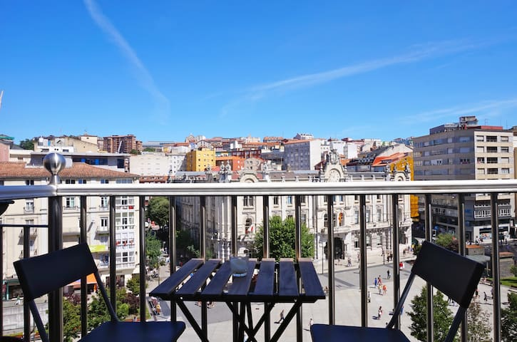 Attic at city center - Santander - Appartement