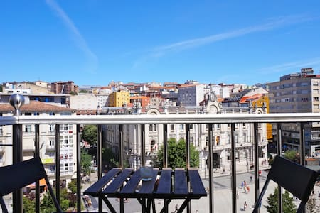 Attic at city center - Santander - Apartamento