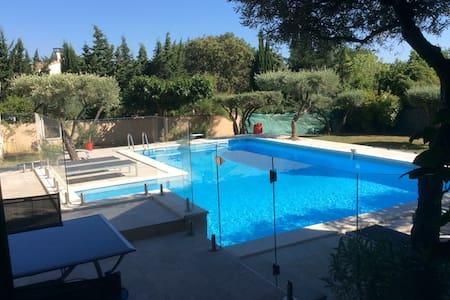 Maison de charme, grande piscine - Saint-Jean-de-Cornies - Casa