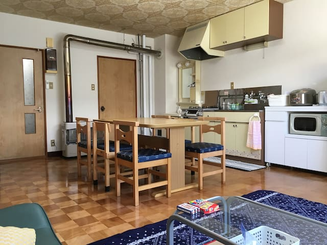 KUNNECHUPU guest house2BED ROOM TYPE B(max3p)tatam - Furano - Wohnung
