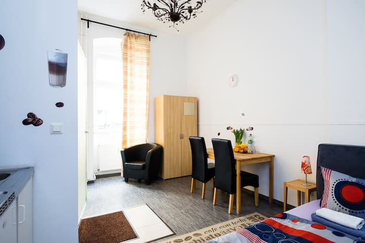 Cozy studio in Prenzlauer Berg