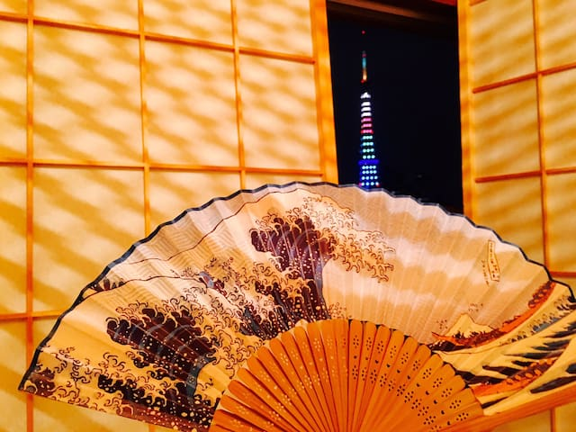 JRsta5min,TsukijiGinza10minTokyoTowerView6pplOK - Minato-ku - Lägenhet
