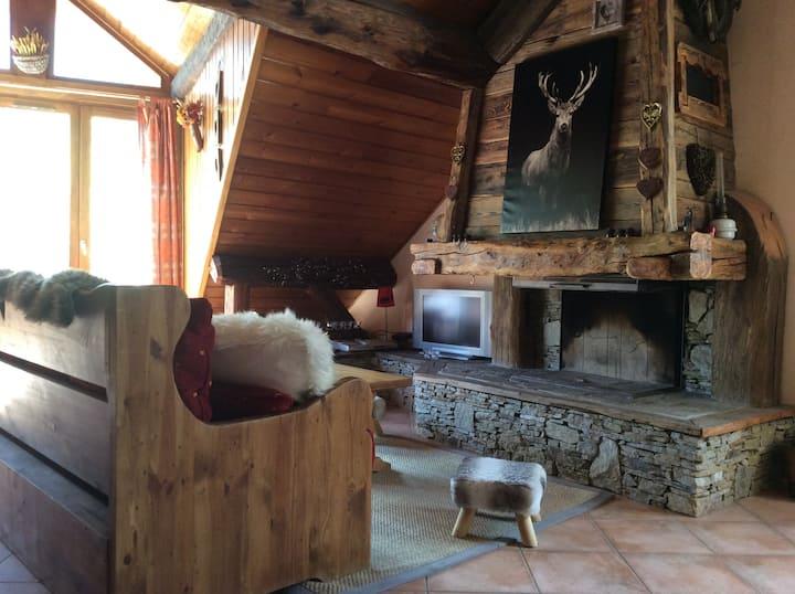 Charmant appartement dans une maison de village