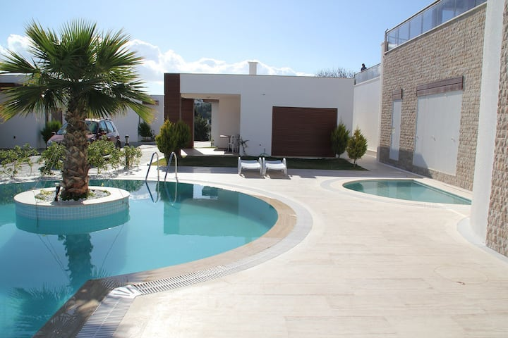 Bodrum Akyarlar Sea View Villa With Pool # 549