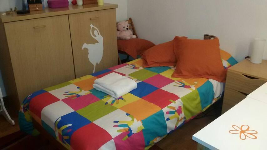 Bonita habitación individual - Donostia - Appartement