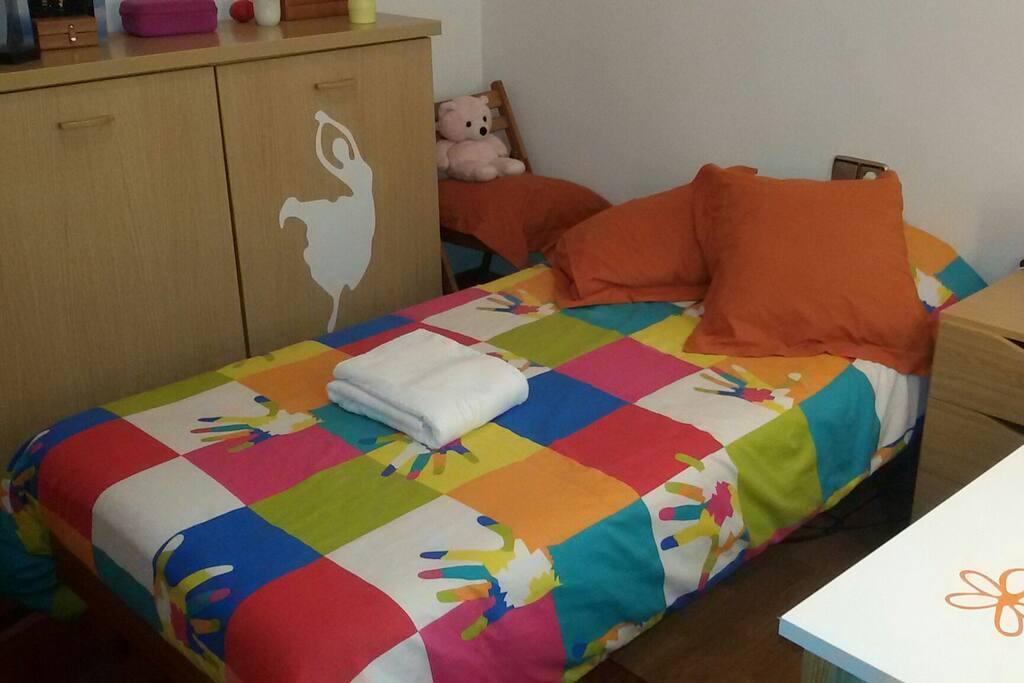 Bonita habitaci n individual departamentos en alquiler for Alquiler habitacion departamento