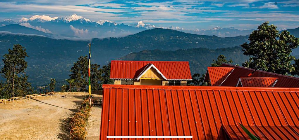 Kaffergaon Entire Villa with Kanchenjungha view