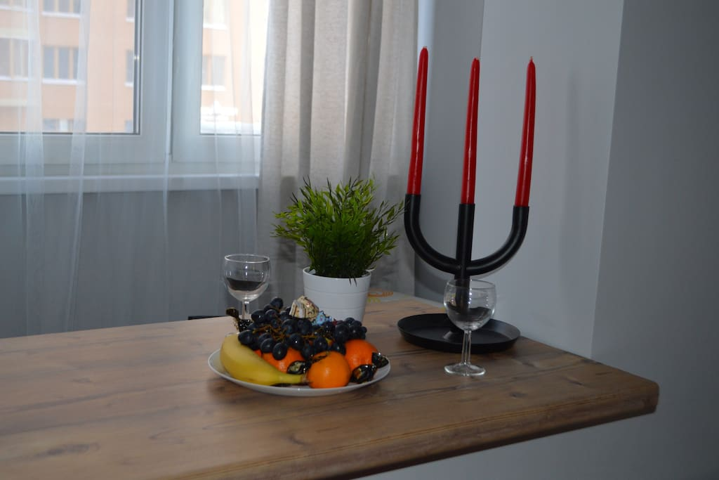 Свечи для романтического ужина