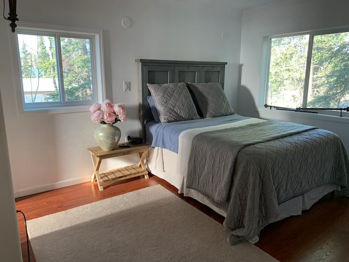 Bedroom Suite with forest view!
