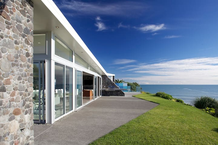 BBQ facilities, cook your meal while overlooking the ocean