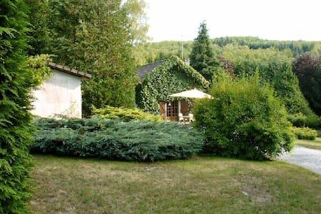 Maison à la campagne avec SPA  - Saint-Léger-la-Montagne