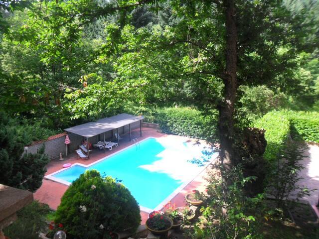 Villa in a natural park near Rome