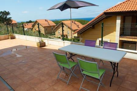 Apartamento Comillas super terraza vistas al mar - Comillas - Apartment