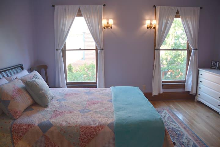 Purple Room - Private Half Bath - Stunning Home