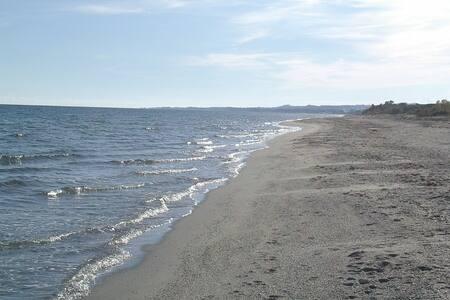 corse alba serena2 pied dans l'eau - Poggio-Mezzana