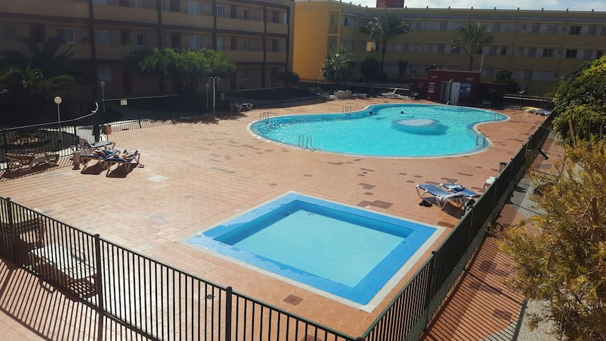 Two bed apartment in quiet location - La Oliva - Appartement