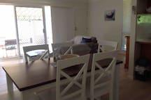 Bougainvillea Apartment opposite Sawtell beach.