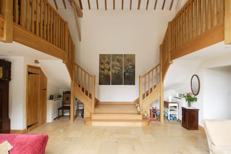 Country Barn B&B  En-suite double.near MK Woburn - Dunstable  - Szoba reggelivel