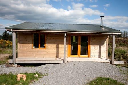 Gortbrack Organic Farm. Alder cabin