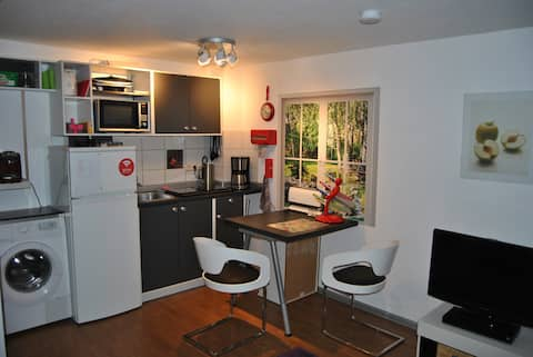 kleine saubere Wohnung mit separaten Eingang