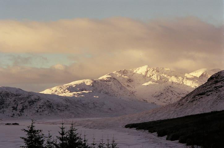Road to Skye in December