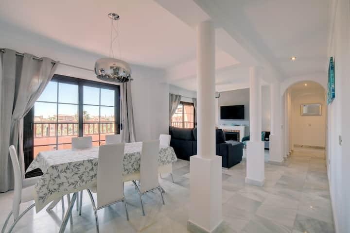 Luxury Penthouse in the Hacienda Del Sol complex