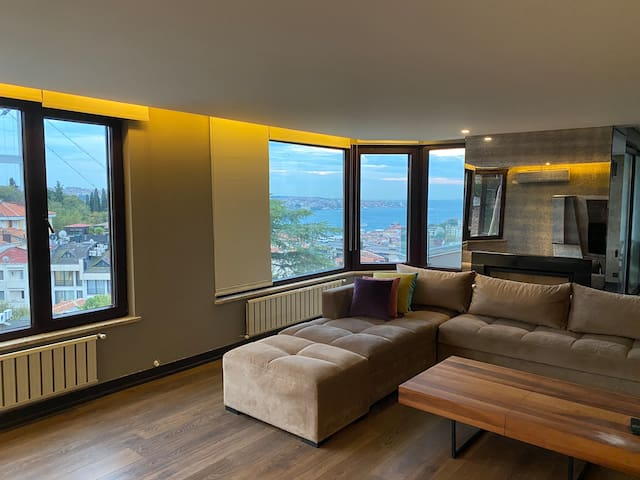 Best residential area in istanbul Seaview 250sqmet