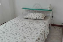 Single bed on the first floor