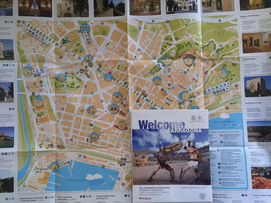 A map for you + answers to any question you may have about Tarragona ;)