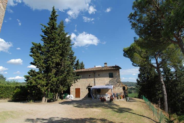 Toscana/Firenze/Ginestruzze - Montespertoli - House