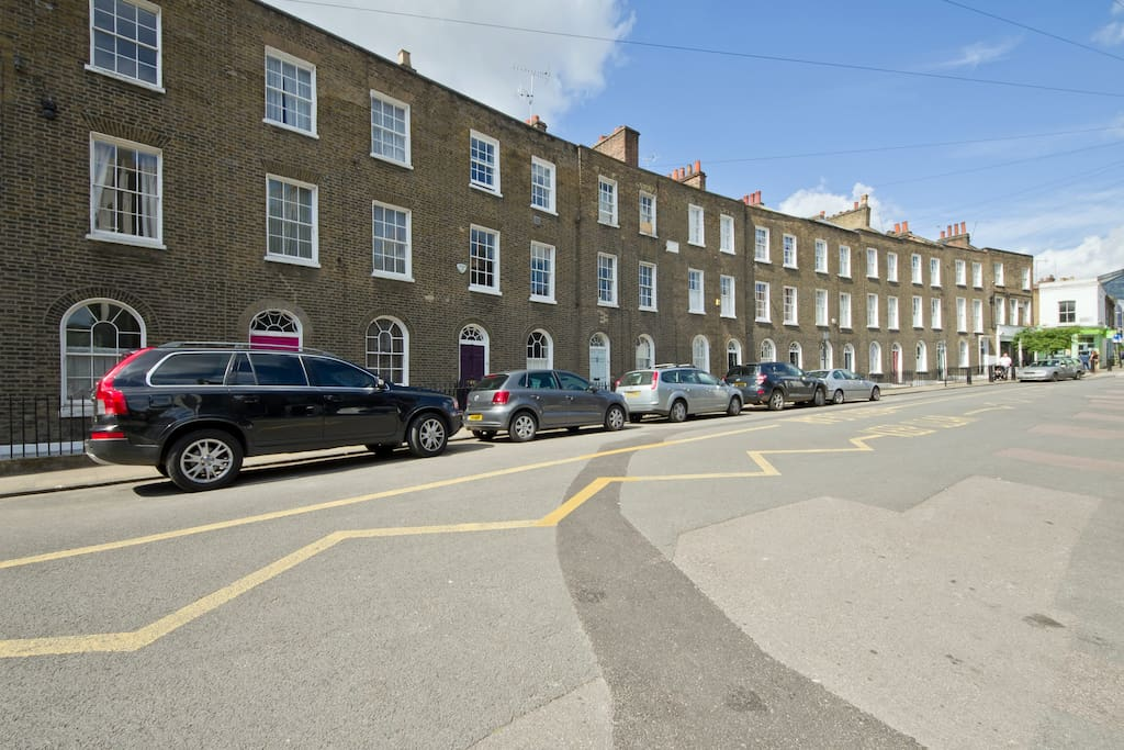 and  to Charlton Place, one of Islington's oldest streets.